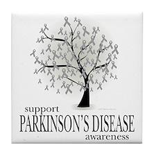 Parkinsons-Disease-Tree Tile Coaster