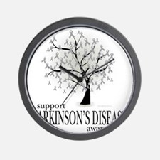 Parkinsons-Disease-Tree Wall Clock