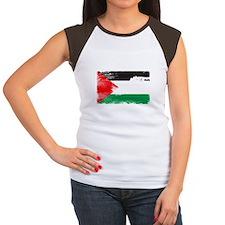 freepalestineengfrenw Women's Cap Sleeve T-Shirt