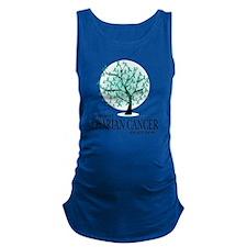 Ovarian-Cancer-Tree Maternity Tank Top