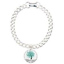 Ovarian-Cancer-Tree Charm Bracelet, One Charm