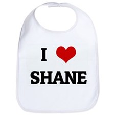I Love SHANE Bib