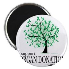 Organ-Donation-Tree Magnet
