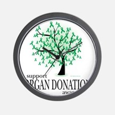 Organ-Donation-Tree Wall Clock