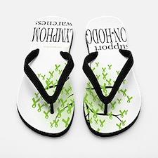 Non-Hodgkins-Lymphoma-Tree Flip Flops