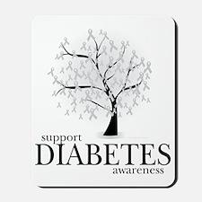Diabetes-Tree Mousepad