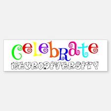 Awareness tee neurodiversity copy Bumper Bumper Sticker