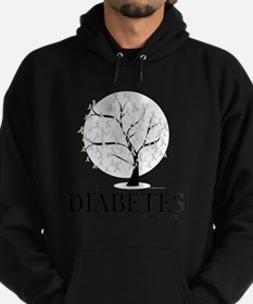 Diabetes-Tree Hoodie (dark)