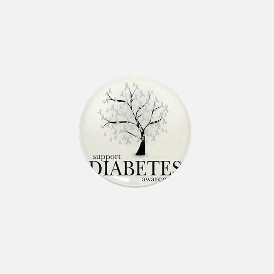 Diabetes-Tree Mini Button