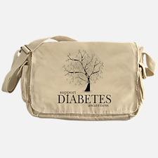 Diabetes-Tree Messenger Bag