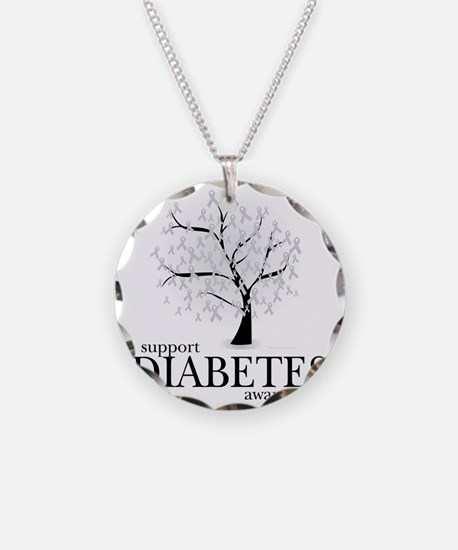 Diabetes-Tree Necklace