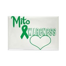Mito Awareness cutout copy Rectangle Magnet
