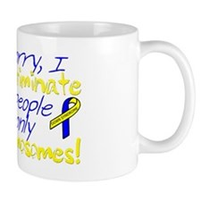 Awareness Tee I dont discriminate copy Mug