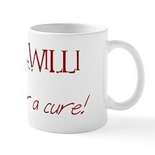 Awareness Tee Prader Willi white Mug