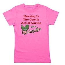 Nursing CNA Green Girl's Tee