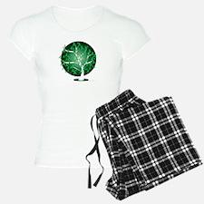 Mental-Health-Tree-blk Pajamas