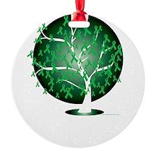 Mental-Health-Tree-blk Ornament