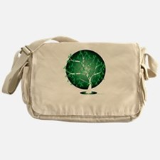 Mental-Health-Tree-blk Messenger Bag