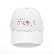Flower Girl - Pink Stars Baseball Cap