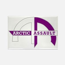 AA_logo_purple_white_trans Rectangle Magnet