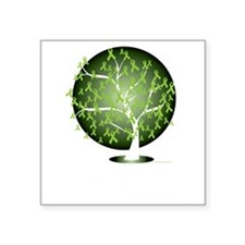 "Non-Hodgkins-Lymphoma-Tree- Square Sticker 3"" x 3"""