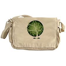 Non-Hodgkins-Lymphoma-Tree-blk Messenger Bag