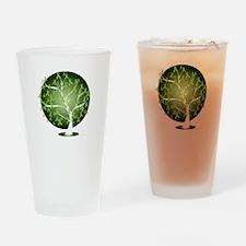 Non-Hodgkins-Lymphoma-Tree-blk Drinking Glass