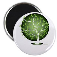 Non-Hodgkins-Lymphoma-Tree-blk Magnet