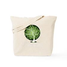Non-Hodgkins-Lymphoma-Tree-blk Tote Bag