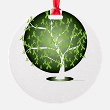 Non-Hodgkins-Lymphoma-Tree-blk Ornament