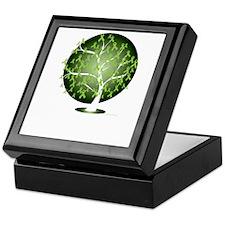 Non-Hodgkins-Lymphoma-Tree-blk Keepsake Box
