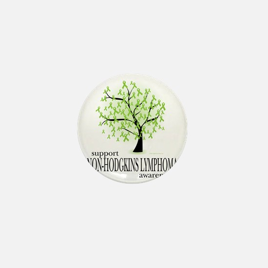 Non-Hodgkins-Lymphoma-Tree Mini Button