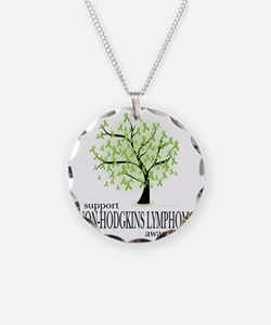 Non-Hodgkins-Lymphoma-Tree Necklace