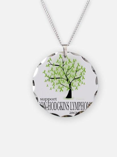 Non-Hodgkins-Lymphoma-Tree Necklace