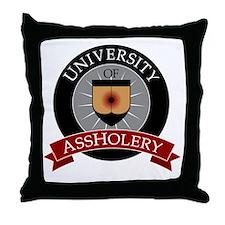 UofAalumniK Throw Pillow