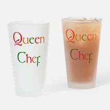 Chef Drinking Glass