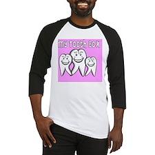 My Tooth Box Pink Baseball Jersey
