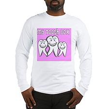 My Tooth Box Pink Long Sleeve T-Shirt