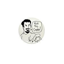 sebastian_cretin_transparent Mini Button