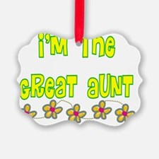 Im the Great Aunt Ornament