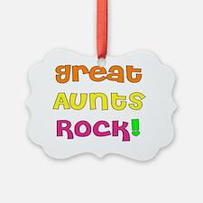 Great Aunts Rock Ornament