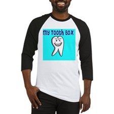 My Tooth Box blue Baseball Jersey