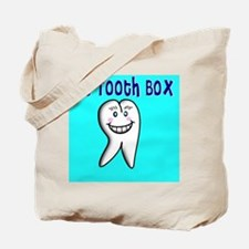 My Tooth Box blue Tote Bag