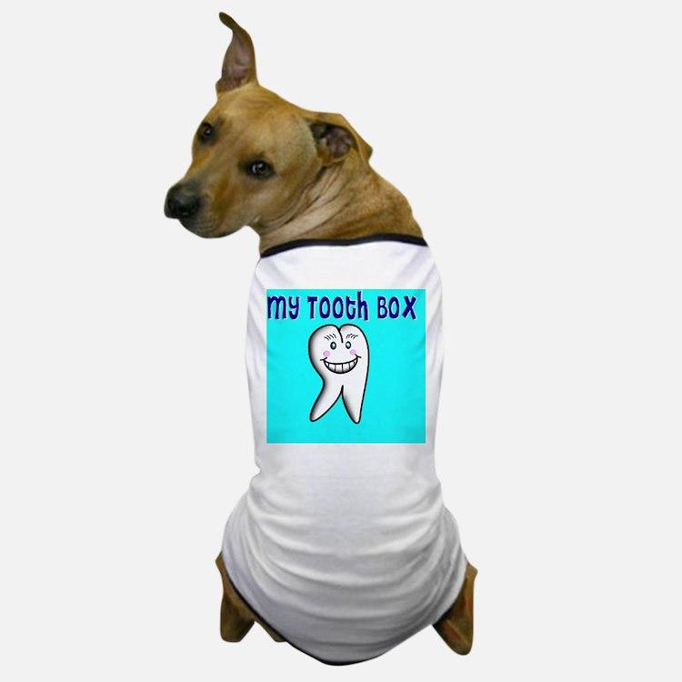 My Tooth Box blue Dog T-Shirt