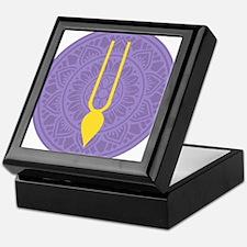 Tilak Purple Keepsake Box