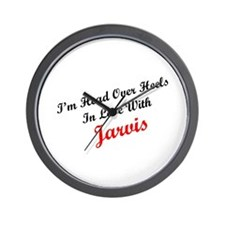 In Love with Jarvis Wall Clock
