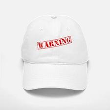 Awareness tee WARNING white Baseball Baseball Cap