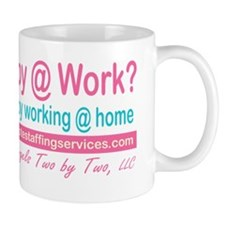 promotional_happyatwork_pink_teal Mug