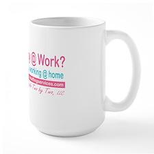 promotional_happyatwork_pink_teal Mug