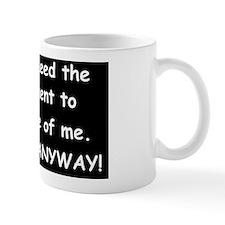 anti obama thanks anywayd Mug